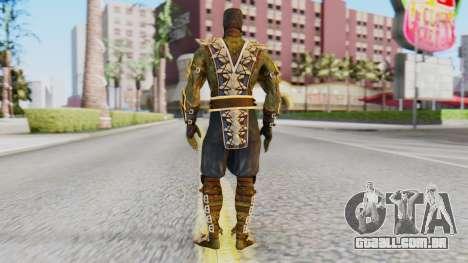 [MKX] Réptil para GTA San Andreas terceira tela