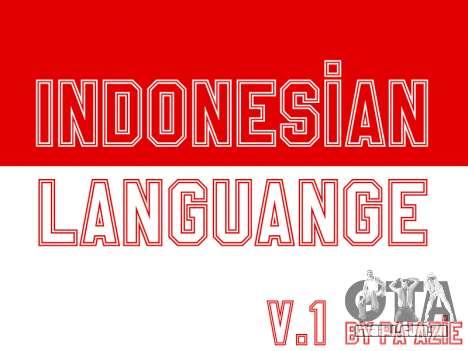 Indonésio Legenda (Em Jogo Único) para GTA San Andreas