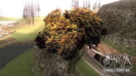 Vegetation Original Quality v3 para GTA San Andreas