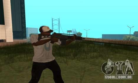 GTA 5 Special Carbine para GTA San Andreas segunda tela