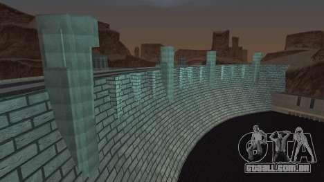 Barragem para GTA San Andreas por diante tela