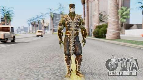 [MKX] Réptil para GTA San Andreas segunda tela