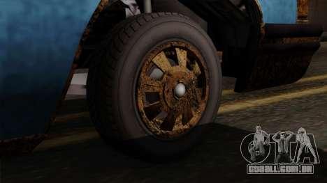 GTA 5 Albany Emperor Worn para GTA San Andreas traseira esquerda vista