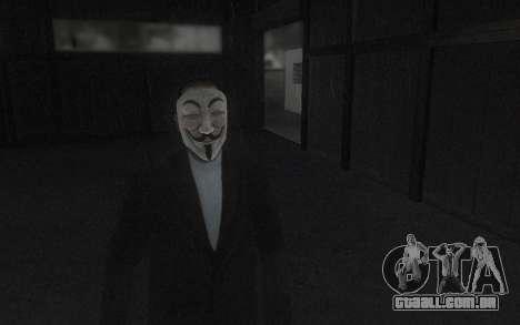 DayZ Mask para GTA San Andreas segunda tela