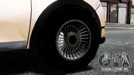 Dacia Logan MCV Stepway 2014 para GTA 4 traseira esquerda vista