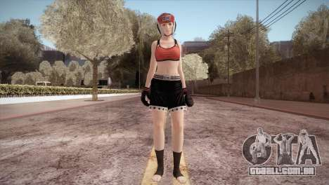 Mila Box para GTA San Andreas segunda tela