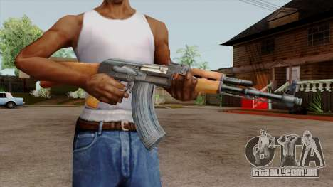 Original HD AK-47 para GTA San Andreas