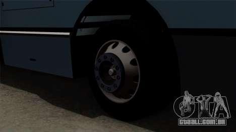Ikarus 415 para GTA San Andreas traseira esquerda vista