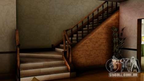 O novo interior da casa do CJ para GTA San Andreas sexta tela