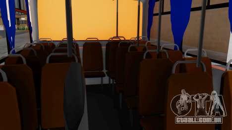 Mercedes-Benz LO-608D Paraguay School Bus para GTA San Andreas vista traseira
