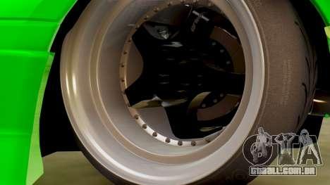 Mazda MX-5 BnSports para GTA San Andreas vista interior