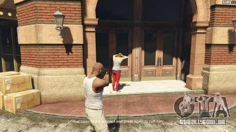Arrest Peds V (Police mech and cuffs) para GTA 5