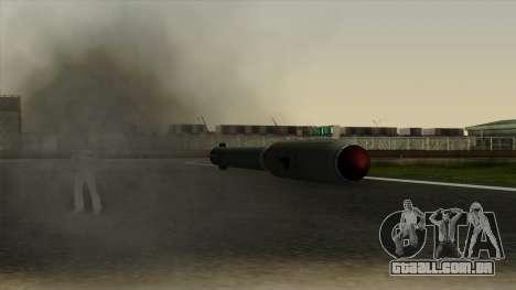 Homing Missile para GTA San Andreas por diante tela