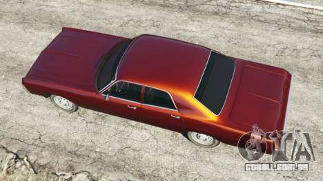 GTA 5 Dodge Polara 1971 voltar vista