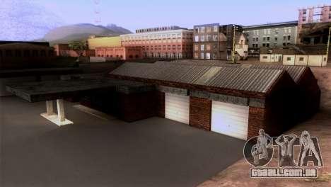 Novo LSPD garagem para GTA San Andreas