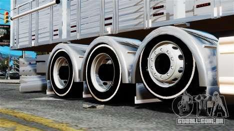 Scania R580 para GTA 4 vista direita