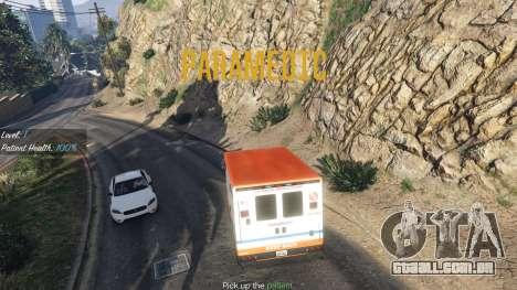 Missão ambulância v. 1.3 para GTA 5