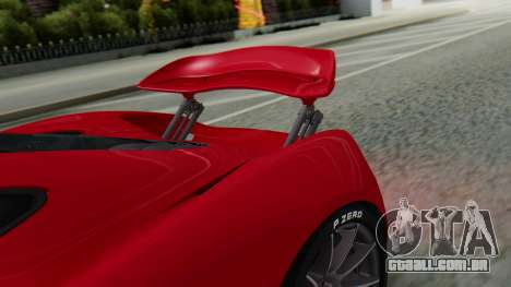 Progen T20 para GTA San Andreas vista direita