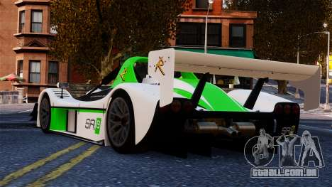 Radical SR8 RX 2011 para GTA 4 traseira esquerda vista