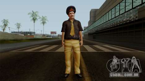 Pakistani Police para GTA San Andreas segunda tela