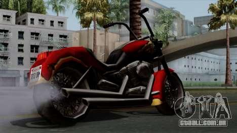 Freeway Avenger para GTA San Andreas esquerda vista