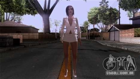 Detalhada pele de meninas para GTA San Andreas segunda tela