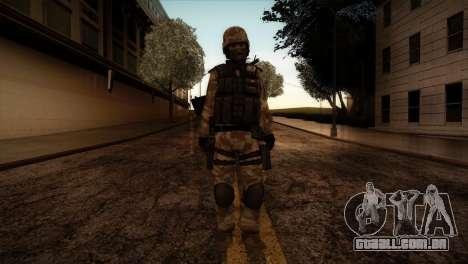 U.S.A. Ranger para GTA San Andreas segunda tela