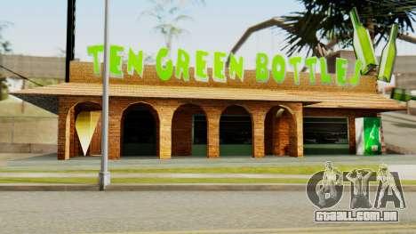 New Bar para GTA San Andreas por diante tela