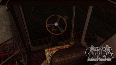 GTA 5 Combine para GTA San Andreas vista traseira