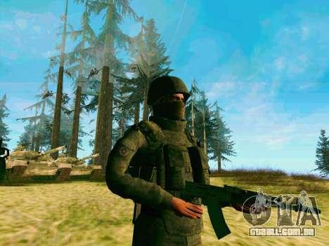 Pak combatentes das tropas especiais de GRU para GTA San Andreas terceira tela