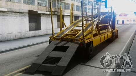 GTA 5 MTL Packer Driving IVF para GTA San Andreas traseira esquerda vista
