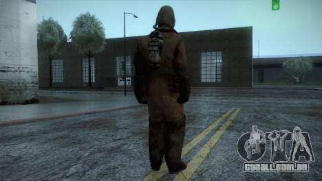 Order Soldier2 from Silent Hill para GTA San Andreas terceira tela