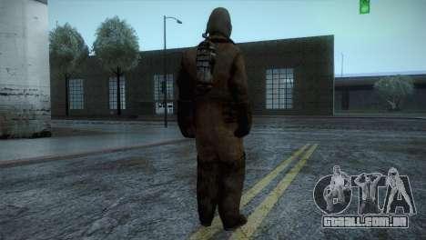 Order Soldier2 from Silent Hill para GTA San Andreas terceira tela