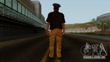 Pakistani Police para GTA San Andreas terceira tela
