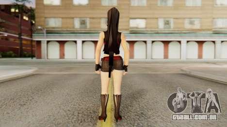Momiji from DoA 5 para GTA San Andreas terceira tela