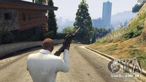 GTA 5 Battlefield 4 Famas quarto screenshot