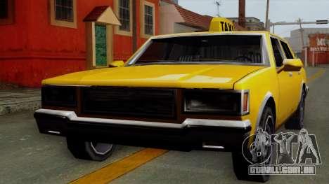 Classic Taxi Los Santos para GTA San Andreas