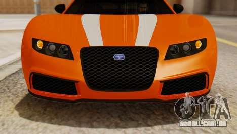 GTA 5 Adder Secondary Color para GTA San Andreas vista direita