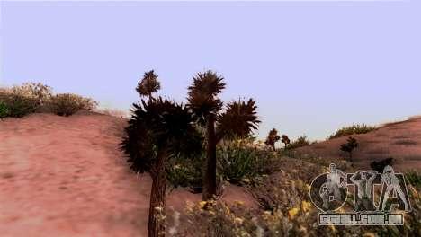 Real textura da vegetação para GTA San Andreas segunda tela