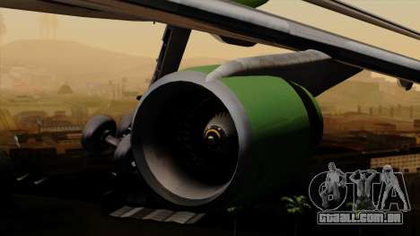 Lockheed L-1011 TriStar Arrow Air Cargo para GTA San Andreas vista direita
