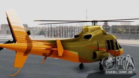 Swift Deluxe para GTA San Andreas esquerda vista