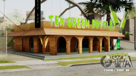 New Bar para GTA San Andreas segunda tela