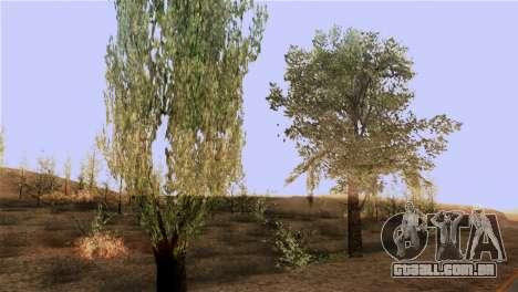 A textura das árvores do BISPO para GTA San Andreas terceira tela