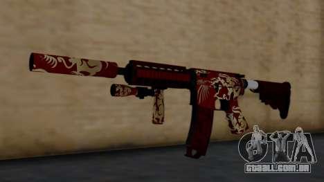M4A1 Royal Dragon para GTA San Andreas