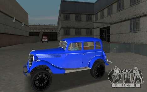 GAZ 11-73 Azul Royal para GTA Vice City