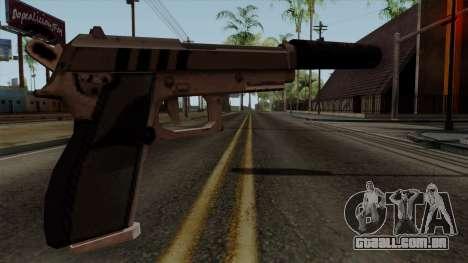 Original HD Silenced Pistol para GTA San Andreas segunda tela