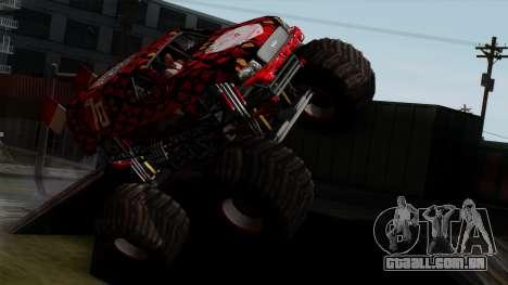 The Seventy Monster v2 para GTA San Andreas vista direita