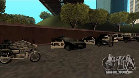 DLC Big Cop and All Previous DLC para GTA San Andreas oitavo tela