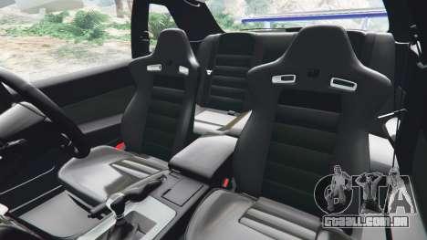 GTA 5 Nissan Skyline R34 GT-R v0.1 vista lateral direita