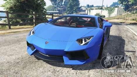 Lamborghini Aventador LP700-4 v1.2 para GTA 5